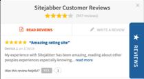 Sitejabber Review Tab Widget