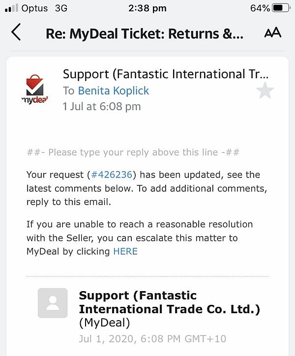 MyDeal.com.au Reviews - 78 Reviews of Mydeal.com.au ...
