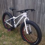 I will be adding a new picture soon of the customization to this bike....check back to see Mutton Fat pimped out!!!