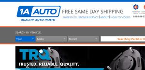 1a Auto Reviews 33 Reviews Of 1aauto Com Sitejabber