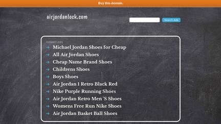 Airjordanlock.com