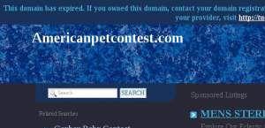 Americanpetcontest.com