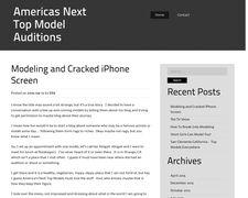 Americasnexttopmodelauditions