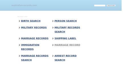 Australian-records