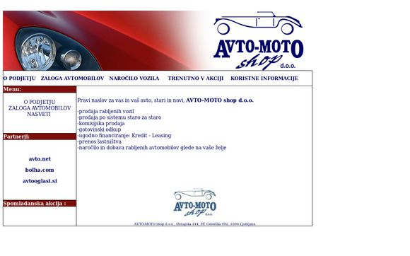 Avto-motoshop.si