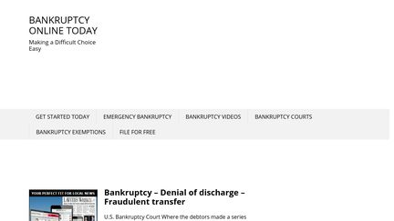 BankruptcyOnlineToday