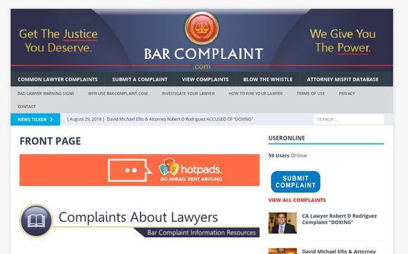Bar Complaint