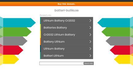Batteri-butiks.se
