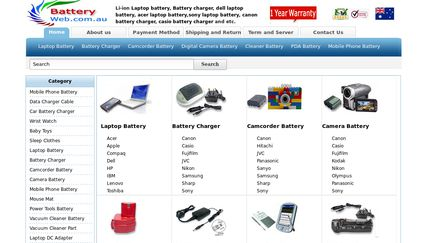 BatteryWeb.com.au