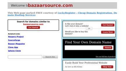 Bazaarsource