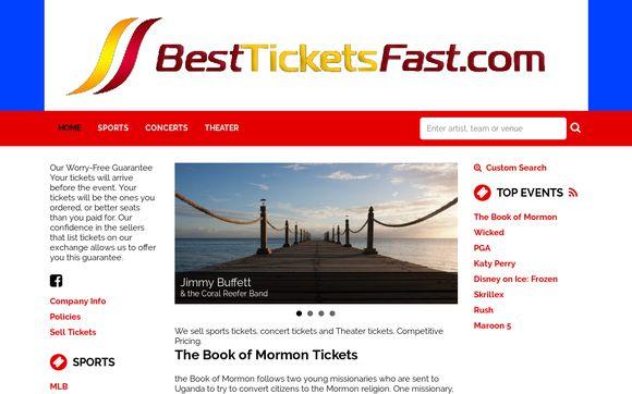 Bestticketsfast Lowest Price Tickets