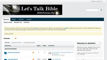 BibleForums.org