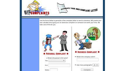 Big Complaints