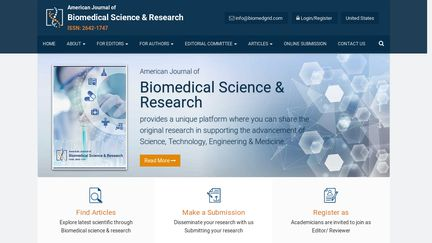 Biomedical Science And Research Journals