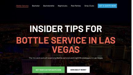 Bottle Service Las Vegas