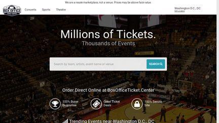Box Office Ticket Center