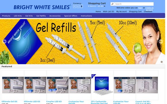 BrightWhiteSmiles.net