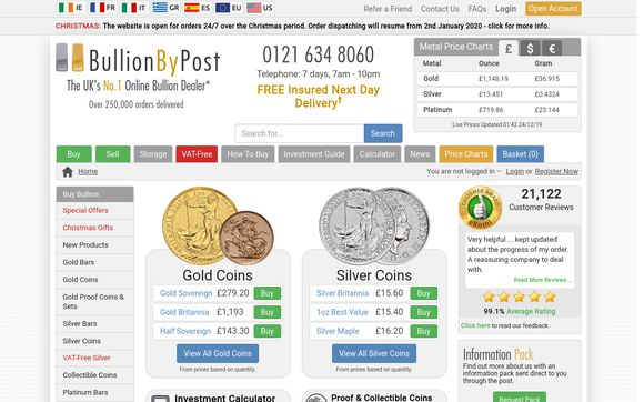 Bullionbypost.co.uk