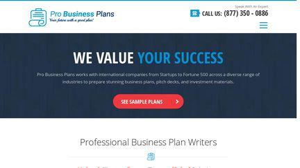 Pro Business Plans