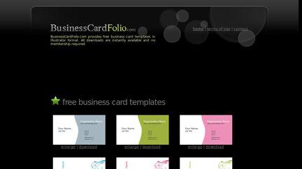 BusinessCardFolio