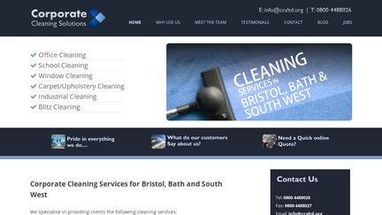 Corporate Cleaning Services Ltd