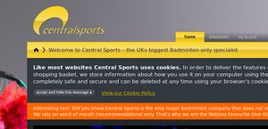 CentralSports.co.uk reviews