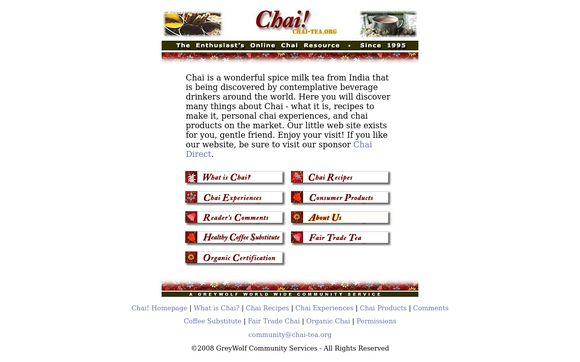 Chai-tea.org
