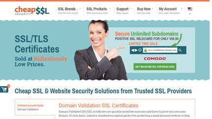 Cheap SSL Security