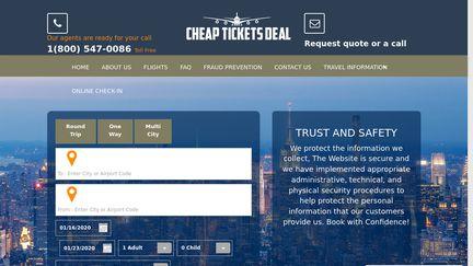 Cheap Tickets Deal