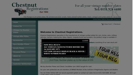 Chestnut-Registrations