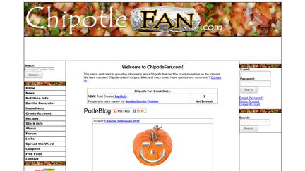 Chipotle Fan.com