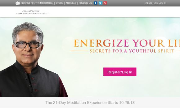 Chopra Center Meditation