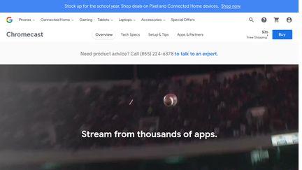 Chromecast.com