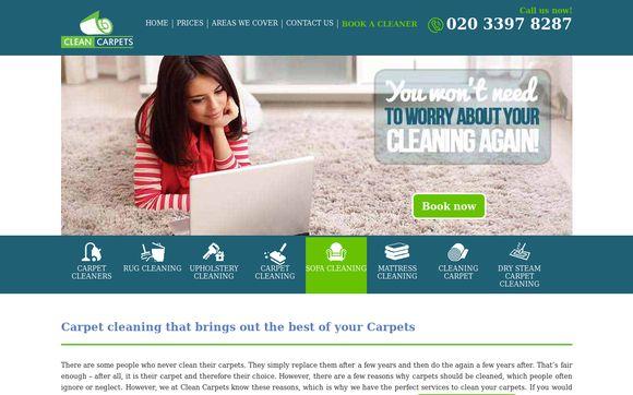 Cleancarpets.co
