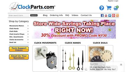 ClockParts.com