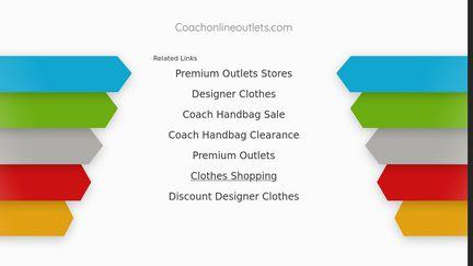CoachOnlineOutlets