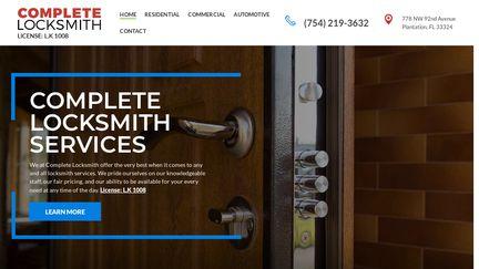 Complete Locksmith Services Plantation FL