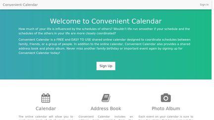 Convenient Calendar