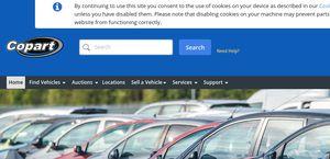Copart Home Page >> Copart Co Uk Reviews 2 Reviews Of Copart Co Uk Sitejabber