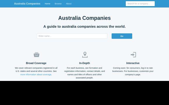 Australia Companies