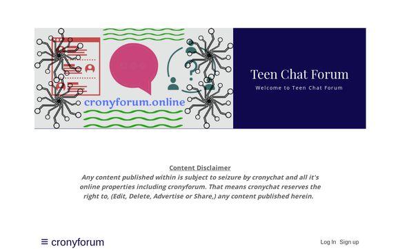 Cronyforum.online