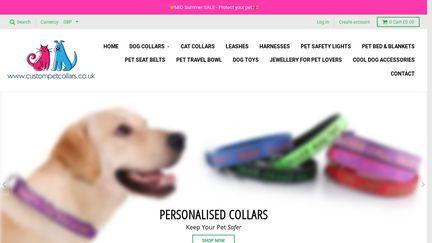 CustomPetCollars.co.uk