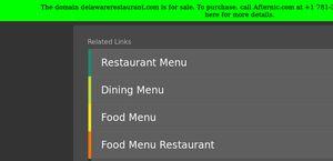 Delawarerestaurant