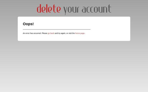 Deleteyouraccount.com
