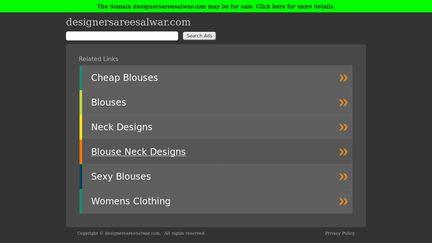 DesignerSareeSalwar