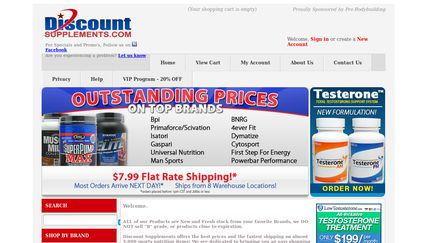 DiscountSupplements