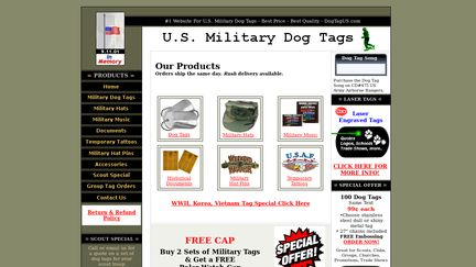 US Military Dog Tags