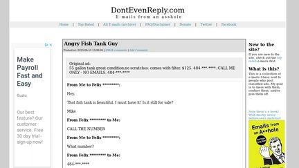DontEvenReply.com