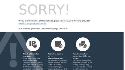 eBatterys.co.uk