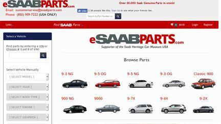 eSaabParts.com